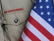 bsa uniform & us flag - 2367322