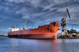 long red ship (high dynamic range) poster