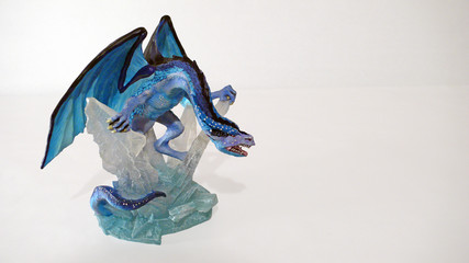 dragon bleu glace
