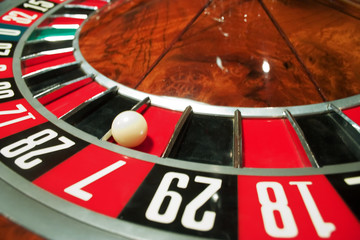 roulette in the casino