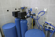 Leinwandbild Motiv water filtration system in laboratory