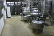 Leinwandbild Motiv temperature controlled pressure tanks in factory