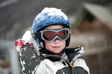 enfant à la neige #1