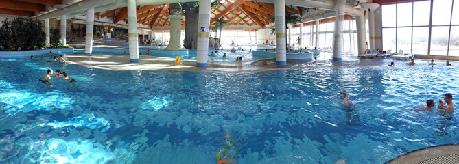 indoor pool panorama