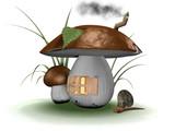 fairy house.jpg poster