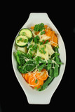 steamed vegetables with cheese poster