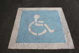 wheelchair access sign poster