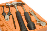 tool kit in box poster