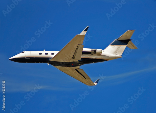 poster of private jet for corporate travel