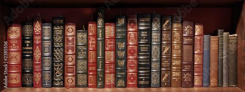 canvas print picture classics shelf