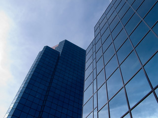 hi-tech business building