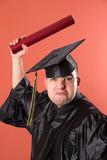 graduation a funny man poster
