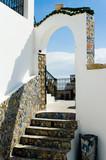 arabic architectural arch, tunisia poster