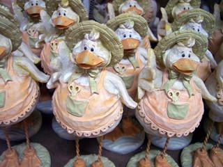 lady ducks