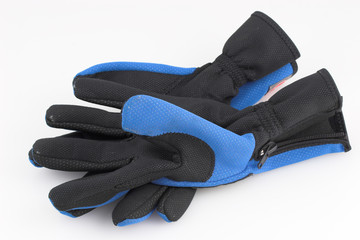 zipped gloves