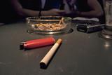 cigarette cendier briquet portable table de bar poster