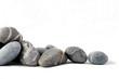 Leinwanddruck Bild - pierres zen