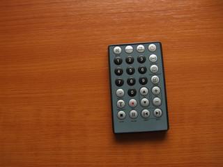 thin remote closeup