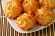 coconut cookies in a dish (1)