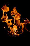 flamme éclatante