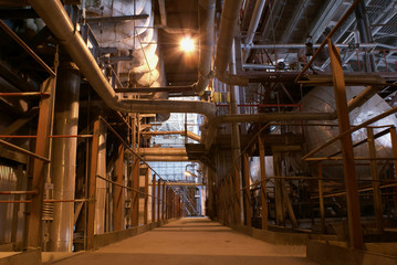 path in the factory