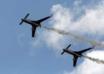 patrouille display aircraft.
