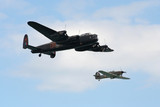 lancaster and hurricane.
