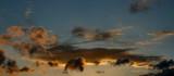 incredible evening sky panorama poster