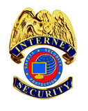 internet security badge without laurel poster