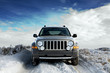 roleta: suv on snow