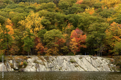 fall colors at hessian lake