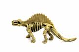 model dinosaur poster