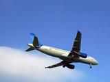 aircraft landing poster