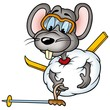 mouse 02 skier