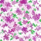lavender  pattern gift wrap poster
