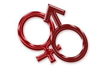 female and male symbols