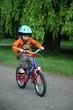 enfant à vélo