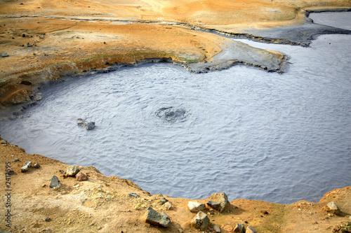poster of mud pool