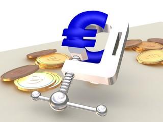 euro in der zange