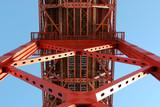 lisbon bridge detail poster