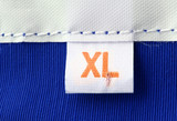 real macro of xl size clothing label poster