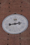 siena - orologio torre del mangia poster