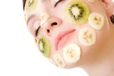 Fototapety fruity face treatment