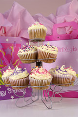 cupcakes and gifts