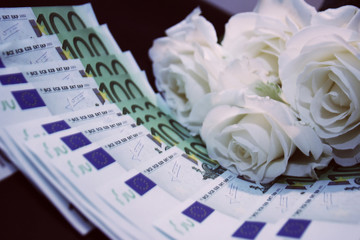 roses and euros