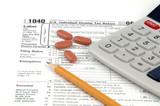 usa tax return poster