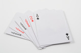 playing cards and jokers poster
