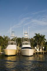 twin luxury boats