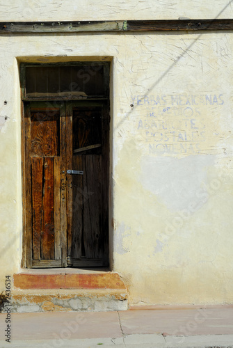 rustic doorway