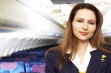 air hostress (stewardess)